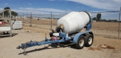 2002 CART-A-WAY 2 YARD CEMENT MIXER