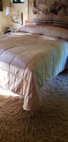 Elegant King Size Taffeta Bedspread
