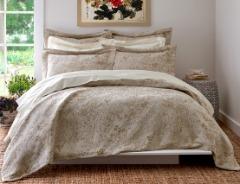 Bees Linen & Silk Bedcover | Anna Sova