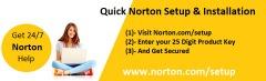 Install & activate norton product key by norton.com/setup