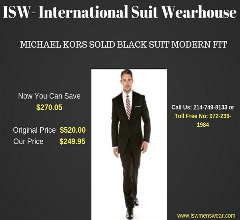 Mens Suits: Modern Fit Mens Suits Online for Sale