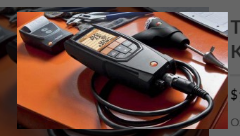 Testo 320 Oxygen Analyzer Kit | Combustion Gas Analyzer | Combustion Analyzer