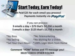 Legitimate Business Opportunity!  Great Earning Potential!