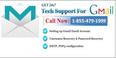 Avail Gmail Help from us with high affordability 1-855-479-1999