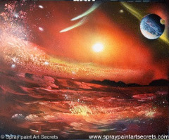 Check Out This Free Spray Art Lesson Site