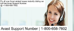 Avast Support Number | 1-800-658-7602