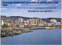 Backpage Duluth best classified ad posting site in the USA!