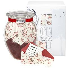 Leaves of Love Jar of Notes
