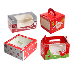 Get Now Cheap Custom Christmas Cake Boxes