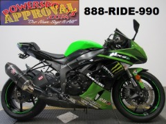 2011 Kawasaki Ninja ZX6R Monster Edition for sale in Michigan U4193