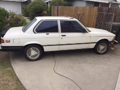 1981 BMW 320IS TURBO FOR SALE