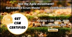 Certified Scrum Master (CSM®)Chicago,IL.