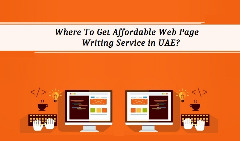 Where To Get Affordable Web Page Writing Service in UAE?