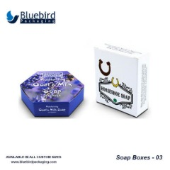 Get quote for custom soap boxes with your logo print on it