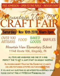 MOUNTAIN VIEW PTO CRAFT FAIR