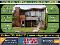 All in One Garage Door Repair Services Katy TX 77450|$25.95