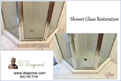 Shower Glass Restoration in Alpharetta - Johns Creek | D'Sapone