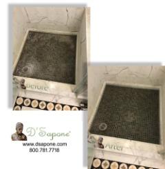Shower Efflorescence Removal Service in Alpharetta - Johns Creek | D'Sapone