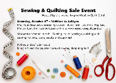 INLAND EMPIRE MODERN QUILT GUILD SALE