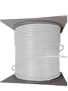 1000FT Cat6 Plenum CMP Solid Ethernet Bulk Network Cable