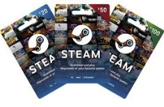 Can Use STEAM Gift Card as a Credit Card