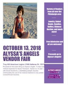 Alyssa's Angels Vendor Show
