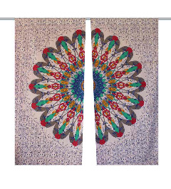 Elite Range of Mandala Curtains from Handicrunch