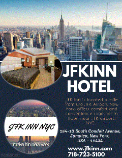 Hotel Near JFK Airport, Queens New York- Best price guaranteed on Hotels Jamaica NYC