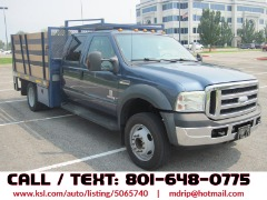 Ford F-550 Flat Bed/Stake Bed