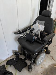 Motorized wheel chair five speed