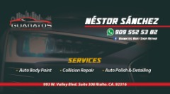 Guanatos auto body shop repair