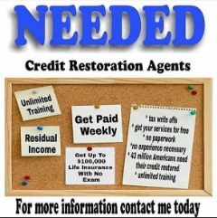 Become A Become A Credit Repair Specialist Today! No License!