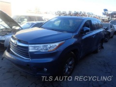 Used Parts for Toyota HIGHLANDR - 2014 - 901.TO1D14 - Stock# 8514BK