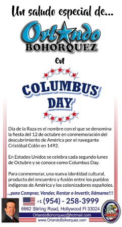 COLUMBUS DAY!!!