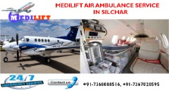 Hired Leading and Inexpensive Air Ambulance Services in Silchar by Medilift