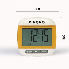 PINGKO Portable LCD Digital Multi Pedometer Calorie Counter Walking Step Distance