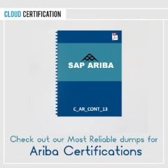 Ariba Certification dumps are available at affordable prices.