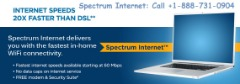 Free Installation & Same Day Installation. Spectrum Internet. +1-888-731-0904