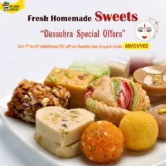 Dussehra Special Offers Fresh Homemade Sweets Online Irving,Texas - MyHomeGrocers