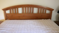 2 HEAD BOARDS WITH BED FRAMES