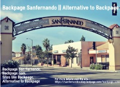 Backpage Sanfernando || Alternative to Backpage