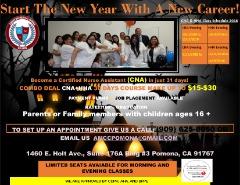 Nurse Assistant & Home Health Aide Classes Enrolling Now