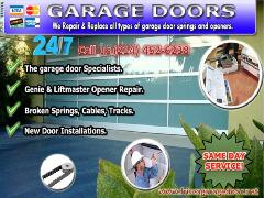 24/7 Garage Door Repair Services ($25.95) Frisco Dallas, 75034 TX