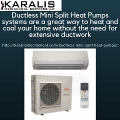 Get Professional Technician for Mini Split Heat Pump Installation for Your Home | Karalis Mechanical