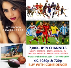 NO MORE CABLE BILLS - 8000+ IPTV CHANNELS + LIVE PPV SPORTS + VOD MOVIES TV SHOWS + 5+ COUNTRIES