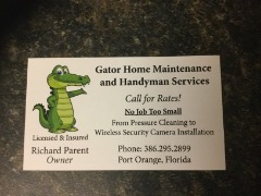 Gator Home Maintenance and Handyman Services