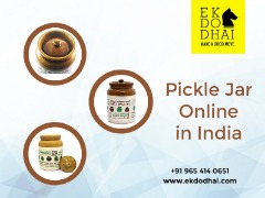 Pickle Jar – Buy  Ceramic Pickle Jar  Online in India at Best Price