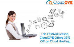 This Festival Season 35% Off At Cloud Hosting From CloudOYE!
