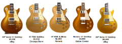 Chibson Les Paul Goldtop