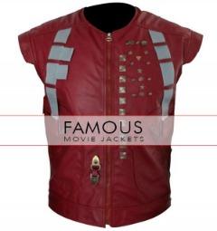Chris Pratt Guardians Of The Galaxy Leather Vest